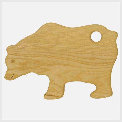 Frühstücksbrett Bär