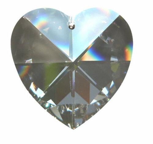 Kristall Herz 40 mm