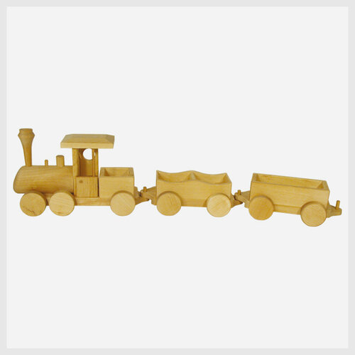 Holzspielzeug Eisenbahn