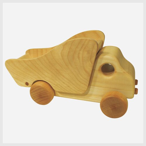 Holzspielzeug Kipplaster