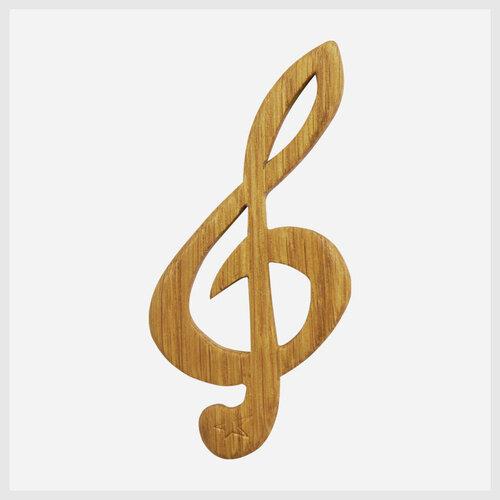 Lesezeichen Violinschlüssel