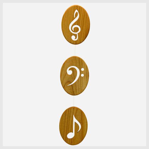 """Mobile """"Zeichen der Musik"""""""